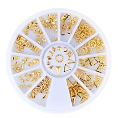 1set Nail Art Decoration tekojalokivi Pearls meikki Kosmeettiset Nail Art Design