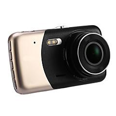 2017 novo 4 mini carro dvr dupla lente gravador de vídeo carro de estacionamento câmera cheia hd 1080p wdr dash cam visão noturna auto
