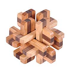 Puzzles Luban Verschluss Bausteine Spielzeug zum Selbermachen Quadratisch Holz Neuheiten & Gag-Spielsachen