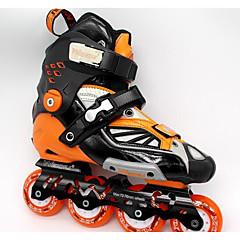 Unisex Inline-Skates EinstellbarWeiß/Orange