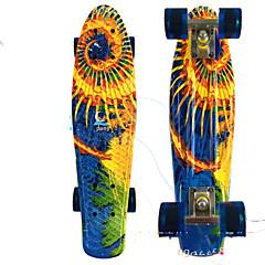 22 Zoll Standard-Skateboards Berufs PP (Polypropylen) ABEC-7-Weiß Orange Gelb Rot Blau
