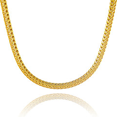 Muškarci Žene Lančići Geometric Shape Zmija Pozlaćeni Jedinstven dizajn kostim nakit Euramerican Nakit sa stilom Jewelry Za Party