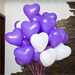 100 Piece / Package 12-Inch Wedding Products Love Balloon Wedding Ceremony 2.2 Grams Of Thick Chicken Balloon Heart-Shaped Balloons