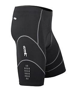 SANTIC Bermudas Acolchoadas Para Ciclismo Homens Moto Shorts Shorts Acolchoados Calças Secagem Rápida Vestível Respirável Tapete 3D