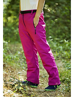Women's Hiking Pants Waterproof Thermal / Warm Windproof Insulated Rain-Proof Pants/Trousers/Overtrousers for Skiing Snowsports