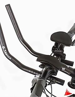 biking® oeste corrida de ciclismo bicicleta mtb liga de alumínio triathlon aero guidão resto guidão separada 2pcs resto tubulação