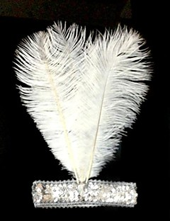 Headpiece Festival/Holiday Halloween Costumes Headpiece Carnival Female Feather