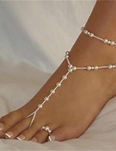בגדי ריקוד נשים תכשיט לקרסול/צמידים פנינה אופנתי ביקיני סקסית תכשיטים כדור תכשיטים עבור חוף ביקיני