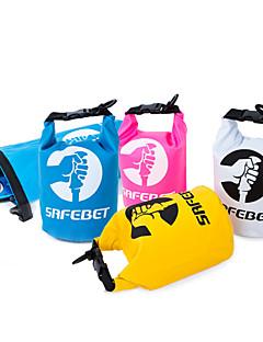 2 L Vedenpitävä Dry Bag Travel Duffel Kuivalaukku Kännykkäkotelo Vedenkestävä Pakattu Monitoiminen Floating varten Uinti Hiekkaranta