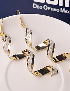Damen Tropfen-Ohrringe Modisch Modeschmuck Aleación Wellen Schmuck Für Hochzeit Party Alltag Normal