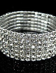 Armbånd Brude kostume smykker Simuleret diamant Smykker Til Bryllup Julegaver