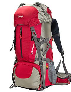 50 L Pacotes de Mochilas Alpinismo Acampar e Caminhar Prova-de-Água Á Prova-de-Chuva Vestível Multifuncional Malha Náilon OSEAGLE