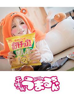 Innoittamana Himouto Cosplay Anime Cosplay-asut Cosplay hupparit Yhtenäinen Painettu Pitkähihainen Viitta Käyttötarkoitus Unisex