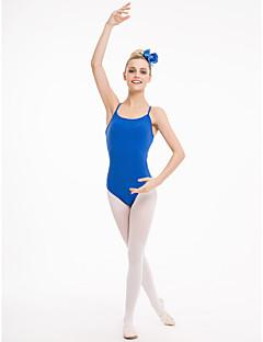 Ballet Gympakken Dames Kinderen Prestatie Opleiding Katoen Tule Lycra 1 Stuk Gympak