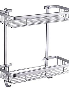"Badeværelseshylde Aluminium Vægmonteret 370 x 313 x 140mm (14.6 x 12.3 x 5.5"") Aluminium Moderne"