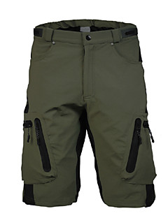 KORAMAN Homens Shorts de Corrida Resistente Raios Ultravioleta Zíper á Prova-de-Água Zíper Frontal Á Prova-de-Pó Anti-Estático Respirável