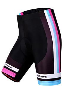 WOSAWE Bermudas Acolchoadas Para Ciclismo Mulheres Moto Shorts Shorts Acolchoados CalçasRespirável Secagem Rápida A Prova de Vento