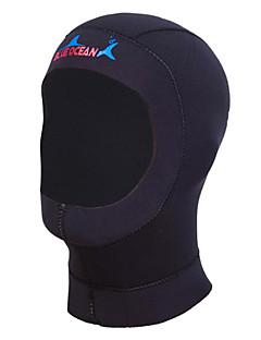 남녀 공용 1mm 다이빙 후드 방수 자외선 방지 착용 가능한 공전방지 네오프렌 잠수복 후드 다이빙 복-수영 다이빙