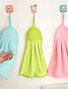 Hånd håndklæde,Solid Høj kvalitet 100% Koral Fleece Håndklæde