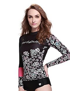 SBART Női Nedves ruhák Dive Skins Ultraibolya biztos Tömörítés Tactel Búvárruha Hosszú ujj Vízhőbuvárruha Fürdőruha Nadrágok-Búvárkodás
