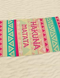 StrandlakenReactieve Print Hoge kwaliteit 100% Microvezels Handdoek