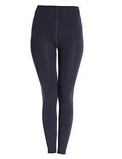 Dla kobiet Jednolity kolor Legging,Poliester Polar