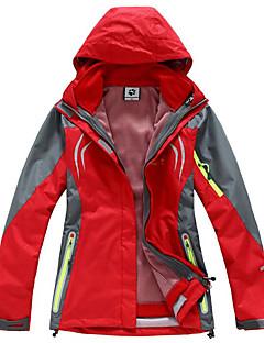 Roupa de Esqui Anoraques Mulheres Roupa de Inverno Náilon Chinês Vestuário de Inverno Prova-de-Água Térmico/Quente A Prova de Vento Sem