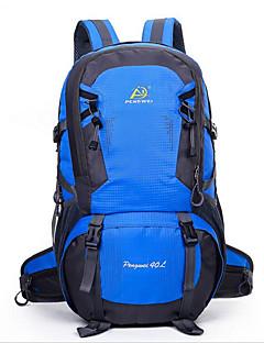 40 L Retkeilyreput Pyöräily Reppu Travel Duffel Backpack Kiipeily Vapaa-ajan urheilu Pyöräily/Pyörä Retkeily ja vaellus Matkailu Juoksu