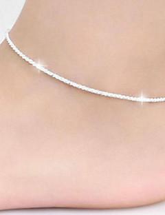 נשים תכשיט לקרסול/צמידים נחושת סגנון מינימליסטי תכשיטים תכשיטים עבור יומי קזו'אל