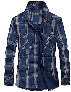 Homens Camisa de Trilha Confortável Blusas para Pesca Primavera M L XL XXL XXXL