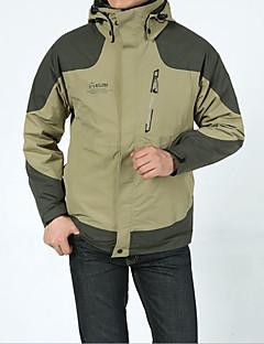 Pánské Bundy 3 v 1 Větruvzdorné Spodní část oděvu pro Outdoor a turistika Jaro Léto Zima Podzim M L XL XXL XXXL