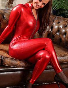 Shiny Zentai Anzüge Cosplay Kostüme Ninja Prinz Fest/Feiertage Halloween Kostüme Schwarz Rot Modisch Gymnastikanzug/EinteilerHalloween