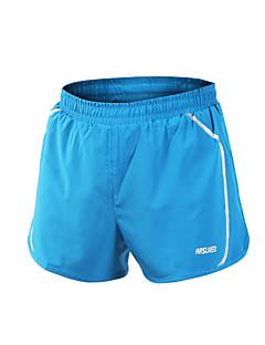 Arsuxeo Homens Shorts de Corrida Secagem Rápida Materiais Leves Tiras Refletoras Reduz a Irritação Shorts para Ioga Acampar e Caminhar