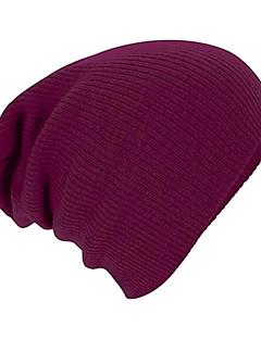 メンズ オールシーズン シンプル コットン 純色 ビーニー帽