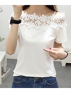 Tee-shirt Femme,Couleur Pleine Décontracté / Quotidien simple Sans Manches A Bretelles Coton