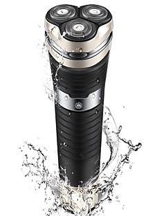 Elektriske barbermaskiner Herrer 100V-240V Vannavvisende LED Rask lading Vaskbar Ladestatus Håndholdt design