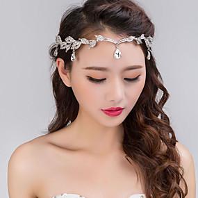 d2c99c9d081 Slitina Čelenky   Doplňky do vlasů s Květiny 1ks Svatební   Zvláštní  příležitosti Přílba