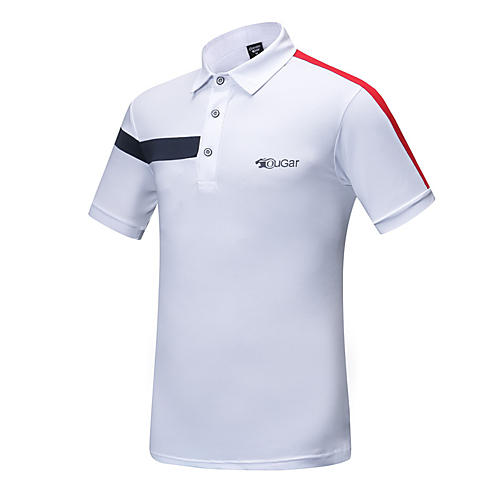 a29e471f Men's Short Sleeve Dri-Fit Golf Polos Shirt Lightweight Breathable ...