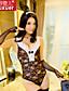 Shuxuer ® Women Lace/Polyester Ultra Sexy Nightwear(with HeaddressAnd Gloves)
