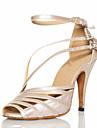 Pantofi  Personalizați Cu Bretea Din Piele Pentru Dans Latin/ Societate