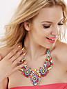 Dame Coliere Piatră Preţioasă Aliaj La modă Bijuterii Statement Cute Stil European costum de bijuterii Bijuterii Pentru Petrecere Ocazie