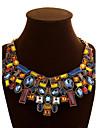 Pentru femei Lănțișoare Coliere Cristal Geometric Shape Piatră Preţioasă Cristal Aliaj Festival/Sărbătoare European Bijuterii Statement