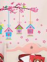 Crăciun / Florale / Vacanță / Peisaj Perete Postituri Autocolante perete plane , pvc 60x90x0.1cm