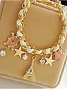 Brățări cu Talismane costum de bijuterii Piele  Star Shape Crown Shape Turn Bijuterii Pentru