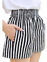Femei Femei Pantaloni Casual / Plajă Scurt / Picior Larg Poliester Inelastic