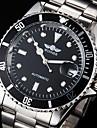 WINNER Bărbați Ceas Elegant Ceas La Modă Ceas de Mână ceas mecanic Mecanism automat Calendar Rezistent la Apă Luminos Oțel inoxidabil