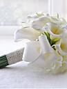 """Flori de Nuntă Rotund Buchete Nuntă Poliester Satin Dantelă Mărgea Ștras 9.45""""(Approx.24cm)"""