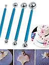 4 Pieces Decorer Outil Gateau Pour Gateau Pour Bonbons Acier Inoxydable Mariage Anniversaire La Saint Valentin