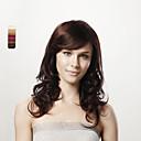 16inch capless long corps bruns bouclés 100% cheveux humains 5 couleurs au choix