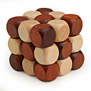 cheap Wooden Puzzles-Wooden Puzzle IQ Brain Teaser Professional Level Speed Wooden Classic & Timeless Boys' Girls' Toy Gift